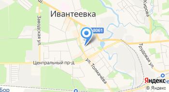 Церковь Иконы Божией Матери Смоленская в Ивантеевке на карте
