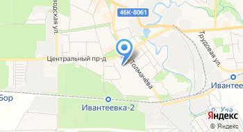 Русская опора на карте