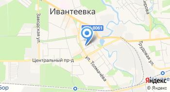 Музыкально-драматический театр г. Ивантеевка на карте