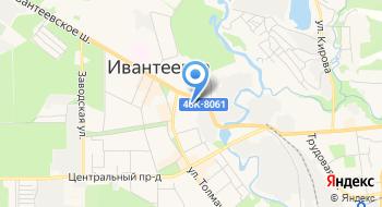 Клинический Госпиталь Медико-Санитарной Части ГУВД по г. Москве ф-л на карте