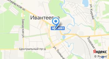 Урэп №1 УЧ-к №1Г. Ивантеевка на карте