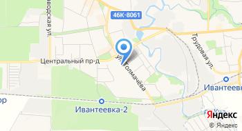 Военно-учетный стол Администрации г. Ивантеевки на карте