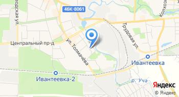 Ивантеевский магазин подарков на карте