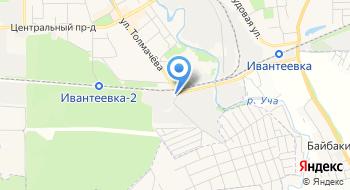 ТНК Ивантеевка на карте