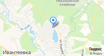 Демос-Р на карте