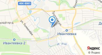Металлобаза в Ивантеевке на карте