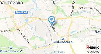 Ивантеевский завод Металлоконструкций на карте