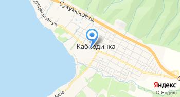Автостанция Кабардинка на карте