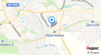 Уголовно-Исполнительная Инспекция УФСИН России по Московской области ф-л по г. Ивантеевке на карте