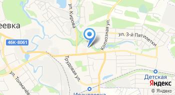 Спорт-клуб на карте