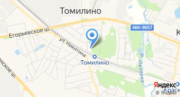 Томилин на карте