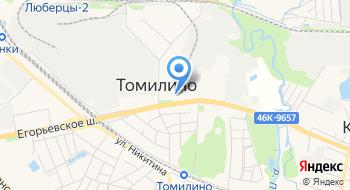 Танцевальный центр Томилино на карте