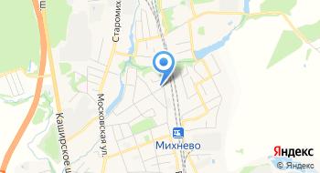 Жилевская Дистанция Пути пос. Михнево (Ступинский район) на карте