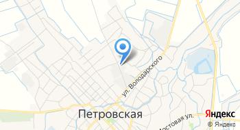 Кубаньмелиоводхоз филиал ФГУ на карте