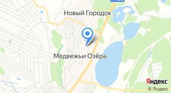 МКУ СП Медвежье Озерское ФСК Медвежьи Озера на карте