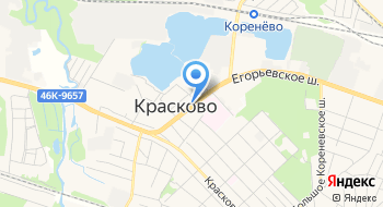 Красковский Рынок на карте
