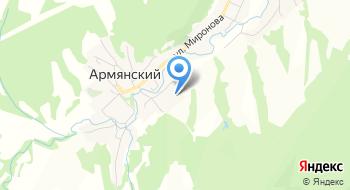 Отделение почтовой связи Армянский 353331 на карте