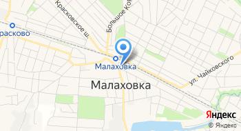Малаховский универсальный рынок на карте