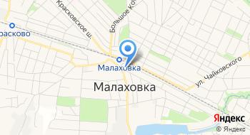 Малаховский рынок на карте