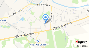 ГСК Чкаловский на карте