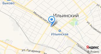 Ильинский дворик на карте