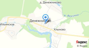 Денежниковский Фельдшерско-Акушерский Пункт на карте