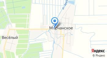 Мерчанское на карте