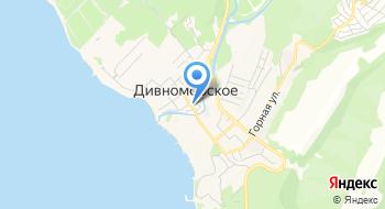 Паломнический центр Фанагория на карте