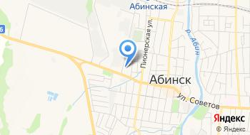 Автовокзал города Абинск Краснодарского края на карте