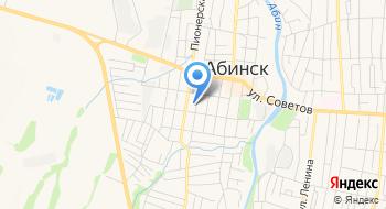Военного комиссариат Абинского района Краснодарского края на карте