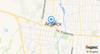 Гостиница 100% г. Абинск на карте