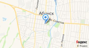 Средняя Общеобразовательная школа № 1 Муниципального Абинский район на карте