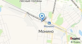 Автострахование в Монино на карте