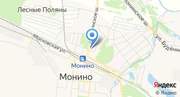 Регбийный центр Московской области ГУ на карте