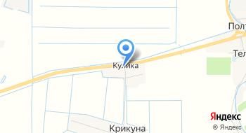Форк на карте