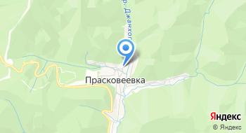Отделение почтовой связи Прасковеевка 353492 на карте