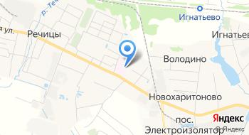 Речицкий Фарфоровый завод на карте