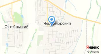 Администрация пгт Черноморский, МУ на карте