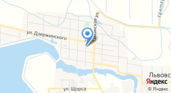 Больница, Участковая, МУЗ на карте