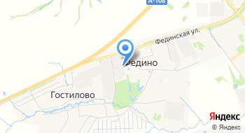 Кондитерская фабрика Гранъ на карте