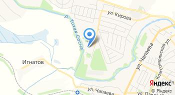 Алексеевская Общеобразовательная школа-интернат на карте