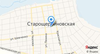 Старощербиновский историко-краеведческий музей им. Пастернака на карте