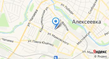 Отделение почтовой связи Красное 309814 на карте