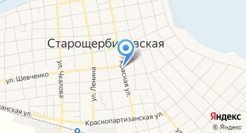 Щербиновскагропромэнерго на карте