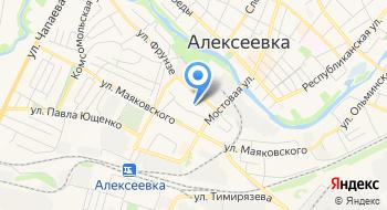 Эфирное на карте