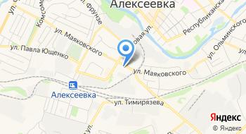Алексеевская Станция по Борьбе С Болезнями Животных на карте
