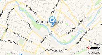 Газпром межрегионгаз, территориальный участок по реализации газа в г. Алексеевка на карте