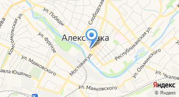 Отделение почтовой связи Алексеевка 309856 на карте