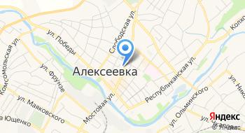 Город Алексеевка Муниципального района Алексеевский район и Город Алексеевка на карте