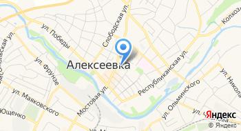Алексеевская Типография, ГУП на карте